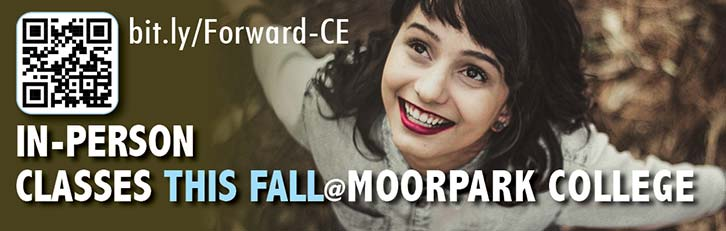 In Person Classes at Moorpark College