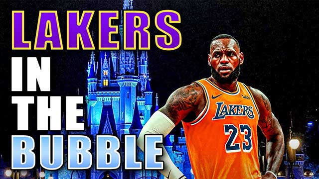 Lakers in Bubble