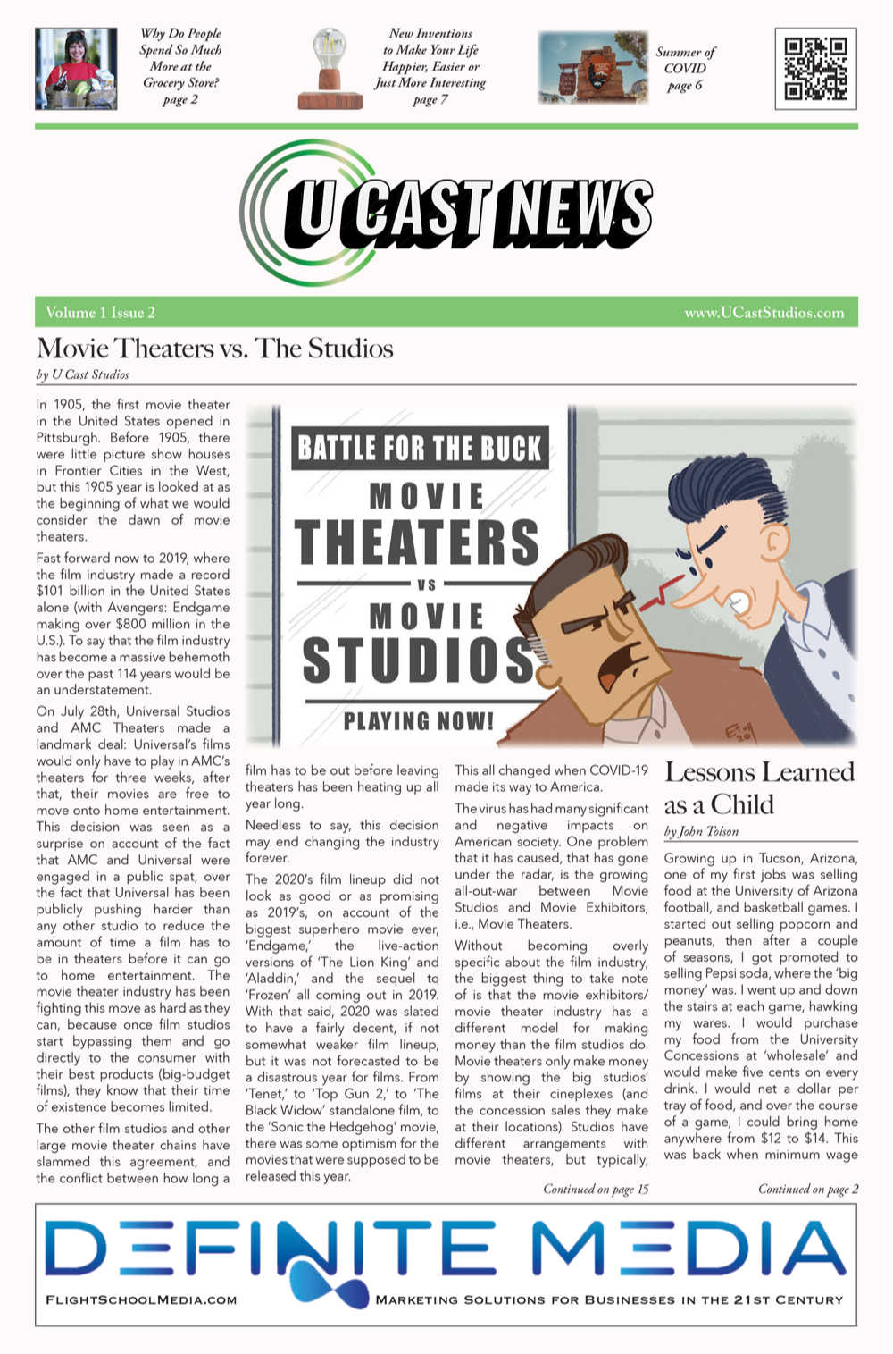 U Cast News September Thumbnail