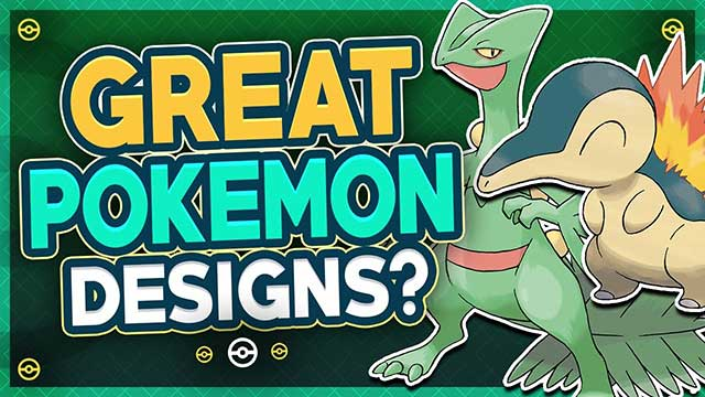 Great Pokemon Designs