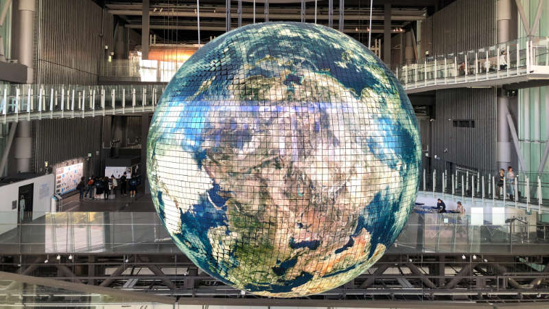 Globe of the World