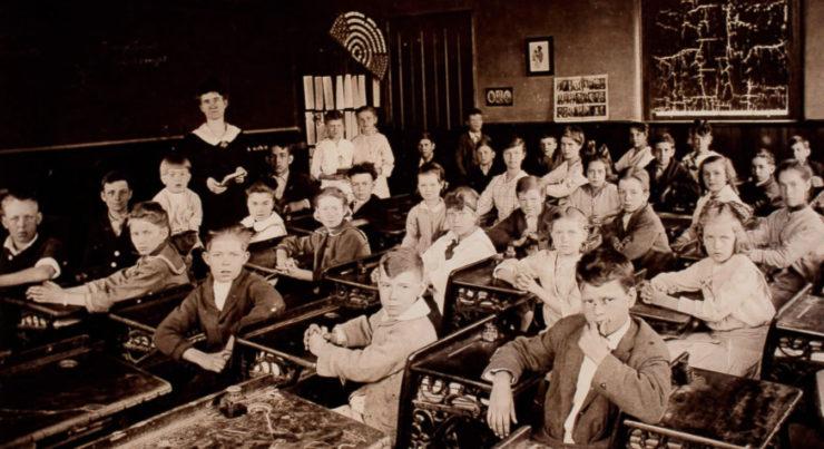 Education In 1917