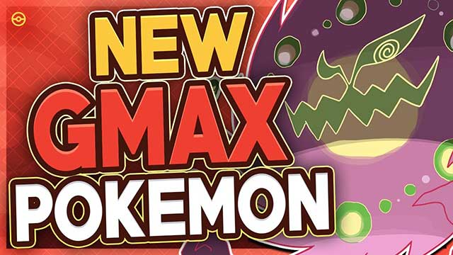 New Gmax Pokemon