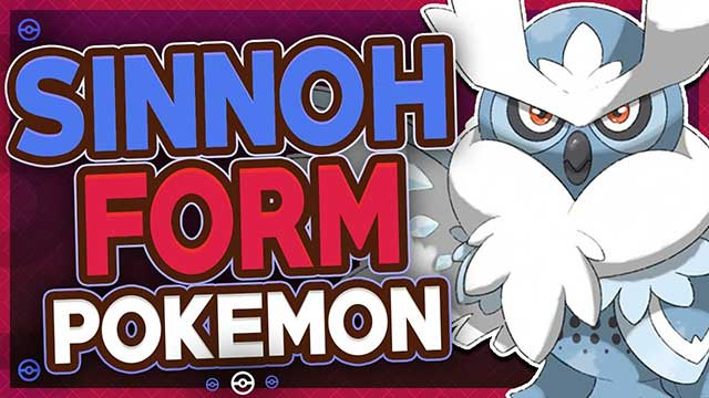 Sinnoh Form Pokemon