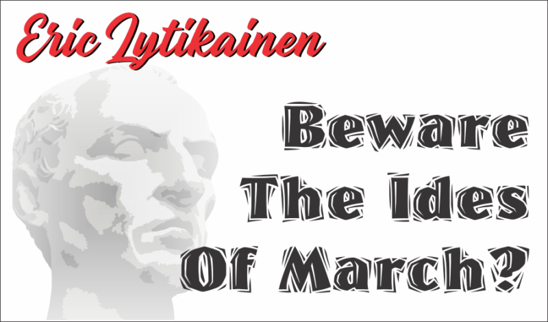 Should Stock Investors Beware Of The Ides Of March