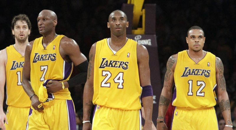 The Lakers All Decades Team The 2010s