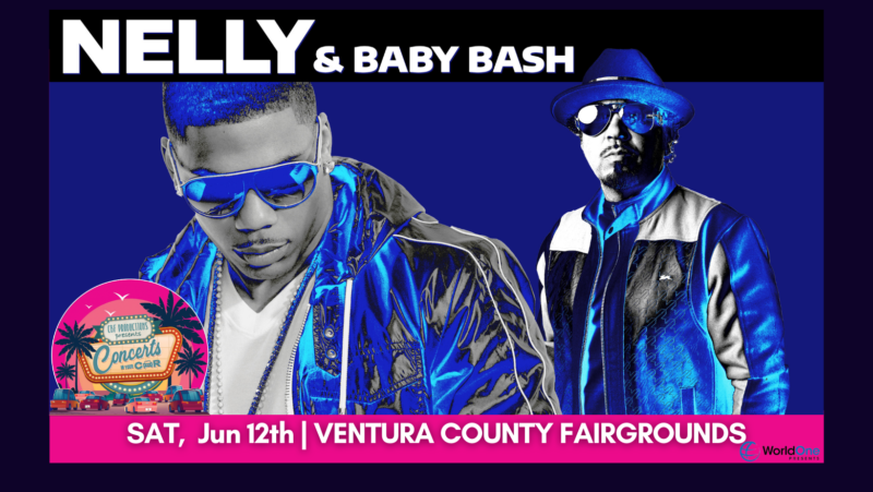 "Nelly And Baby Bash Take Over The Stage At ""Concerts In Your Car"" On June 12"