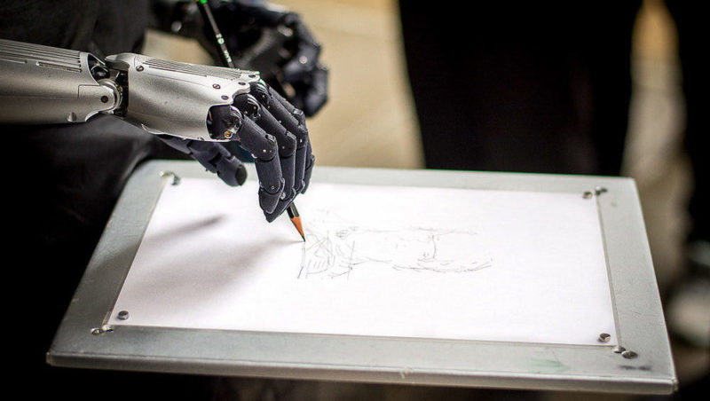 NFT Robot Art Is Now A Thing