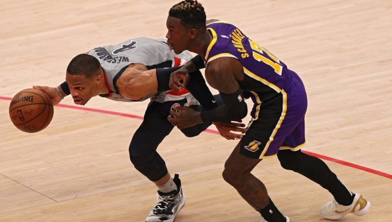 """Report: Lakers Have Had """"Talks"""" About Acquiring Chris Paul, Russell Westbrook"""