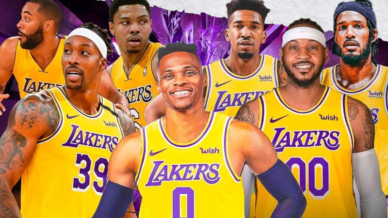 The Best Fast Break Lineups For The Lakers