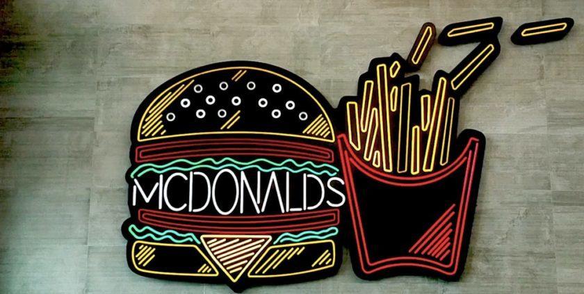 UK McDonalds Runs Out Of Milkshakes Amid Supply Chain Chaos