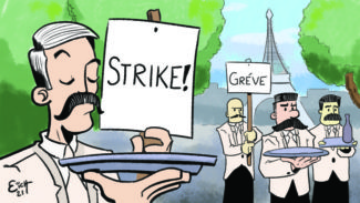 The Mustached French Waiters Strike Of 1907